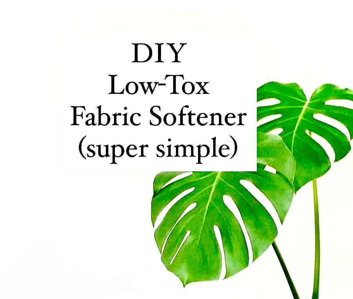 DIY Natural Fabric Softener